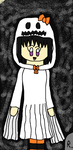 AT: Seedrian Homura's Halloween Outfit by angelthewingedcat