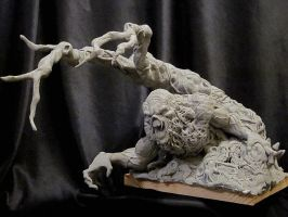 Wrightson Swamp Thing UPDATE by Blairsculpture