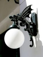 Dragon Light Fixture by FairieGoodMother