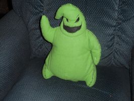 Oogie Boogie decoration by PrincessCarol