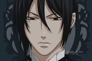Vexel Art: Sebastian Michaelis by arish9