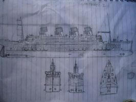 titanic 2 concept by me by SammfeatBlueheart