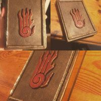 Home-crafted Skyrim Destruction Tome by MeanbreedDave