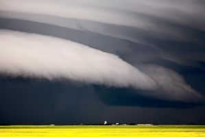 Storm Regina Saskatchewan by pictureguy
