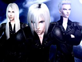 Silver Haired Men - Sims 2 by CSItaly