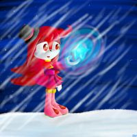 AT: Little winter star.. by lifegiving