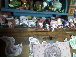 ALL my Vocaloid papercrafts by Gwenathan