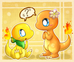 Why are you so orange? Why are you yellow? by FuwaKiwi