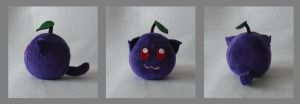 Plum Catfruit Plush by Catfruits
