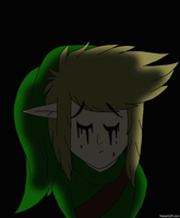 Ben Drowned(glitch) by xRainbowDawnx