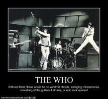 This is how The Who Rocked by Metalchick36