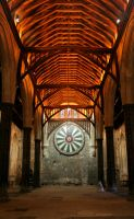 Winchester Great Hall by OghamMoon