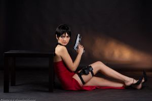 Ada Wong Cosplay by Eyes-0n-Me
