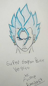 Super Saiyan Blue Vegito by AnimePanda69