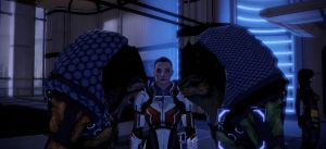 Mass Effect 2-In the middle by callipy-gean