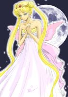 Princess of moon by Frescholy