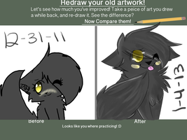 Oh the improvement by callikat