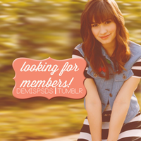 LOOKING FOR MEMEBERS! by mcbiebs