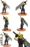 Cloud Strife miniature by arkuel-minis
