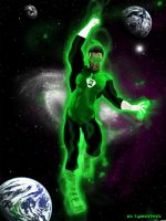 Green Lantern by MrSynnerster
