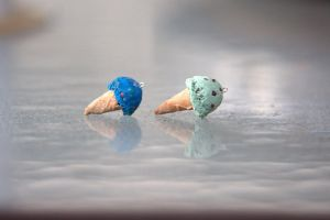 Tiny Ice Cream Cones by ChloeeeeLynnee97