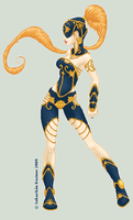 In Blue and Gold by T-Mind