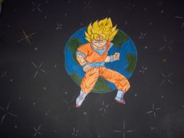 Goku project thing 2 done by awsomeo7