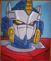 Optimus Prime - Galaxy Convoy by Elden-rucidor