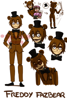 [FNAF HUMAN VERSION]  Freddy Fazbear by YumeChii-NI