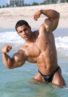 Beach Muscle by n-o-n-a-m-e