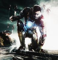 Tony Stark. Iron man 3. Broken by StalkerAE