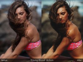 'Young Blood' Action by KayleighJune