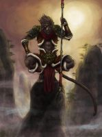 Wukong by adrian4rt