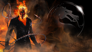 Mortal Kombat X Ghost Rider by ultimate-savage