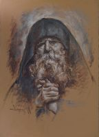 Father Paisie Olaru by florian-lipan