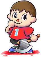 ''Mario+Luigi'' RPG Style: Villager by Master-Rainbow