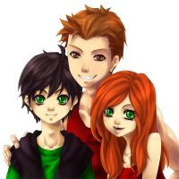 The Potter Children by Iksia