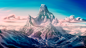 Mountain of glory by doosead