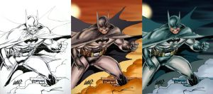 Batman by Rld - Colors by Absalom7
