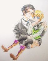 Claude x Alois by Aleu1234