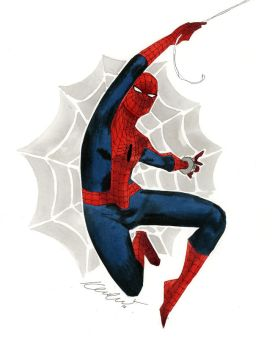 Spider-Man - Austin Wizard World 2014 sketch by kevinwada