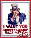 Uncle Sam WANTS YOU DEAD by ARTIST-SRF