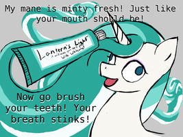 Toothpaste Ad by TerminalGlow