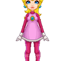 Princess Peach Snow Bunny by General-Guy