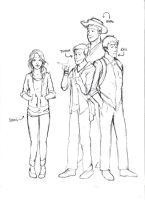 The Apartment Complex - The Main Characters by TeddysTwin