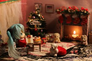Miku Append on Christmas Day by kixkillradio