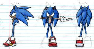 -CONCEPT ART- SONIC 01 by sonicbommer