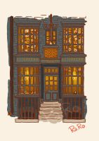 Diagon Alley: Ollivander Shop by RaRo81