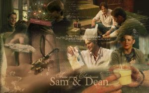 Supernatural - Dean and Sam 2 by LadyJenney