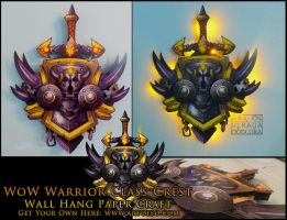 WoW Class Crest: Warrior by StrayaObscura